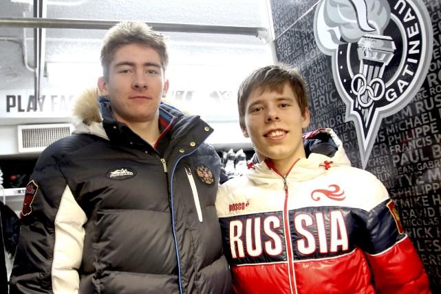 Yakov Trenin (à gauche) en est à sa... (Patrick Woodbury, Archives Le Droit)