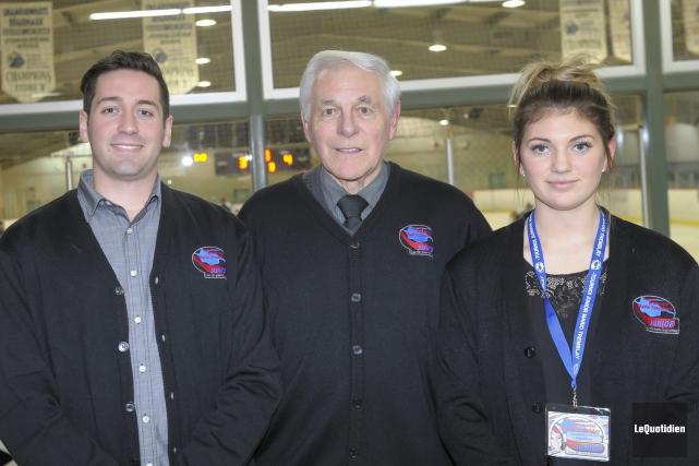 Le Tournoi provincial de hockey junior Mario Tremblay... (Le Quotidien, Gimmy Desbiens)