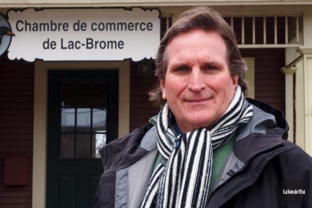 Jean-Luc Marcil est vice-président de la Chambre de... (archives La Voix de l'Est)
