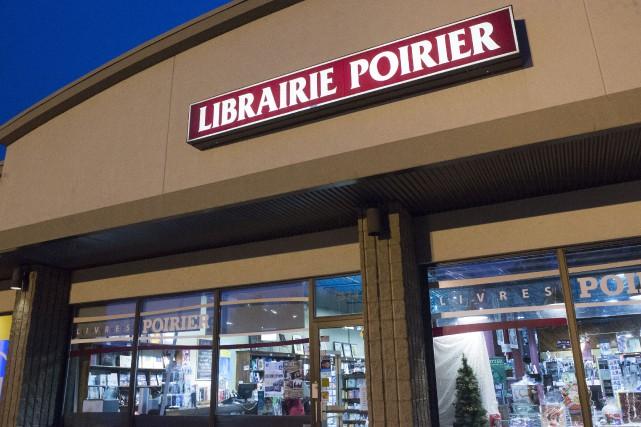 La librairie Poirier située sur le boulevard des... (Stéphane Lessard)