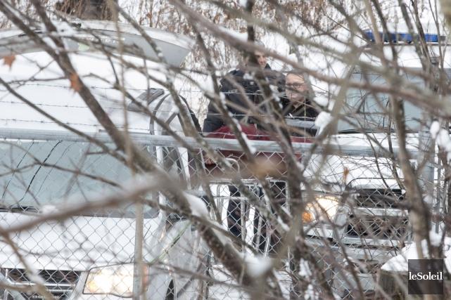 Le corps retrouvé le 30 novembre à Lac-Beauport... (Photothèque Le Soleil, Steve Jolicoeur)