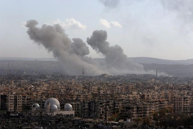 Principal enjeu du conflit syrien, qui a fait... (PHOTO Omar Sanadiki, REUTERS)