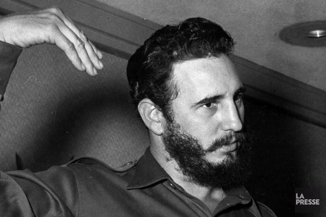 Fidel Castro en 1959... (PHOTO PAUL-HENRI TALBOT, ARCHIVES LA PRESSE)