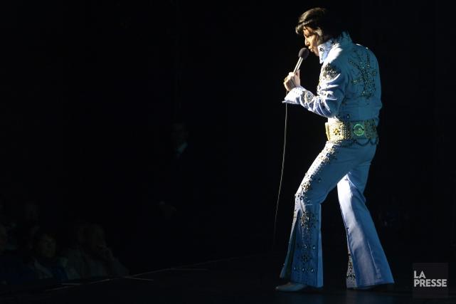 Elvis Experience ramène le public en 1972, pendant... (Archives La Presse)