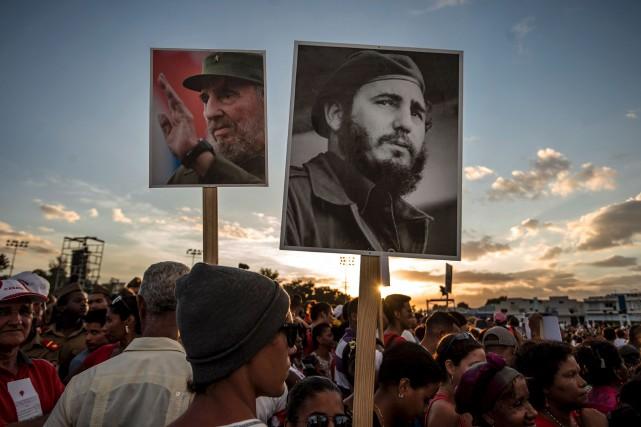 Malgré les tentatives de la CIA d'en finir... (AFP, Juan Barreto)