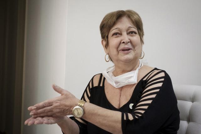 Ivonette Balthazar, 66 ans, a reçu le coeur... (AFP)