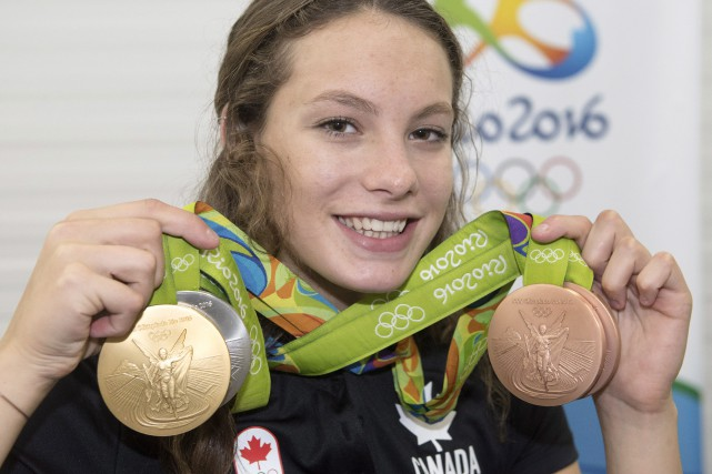 Penny Oleksiak... (PHOTO Ryan Remiorz, archives PC)
