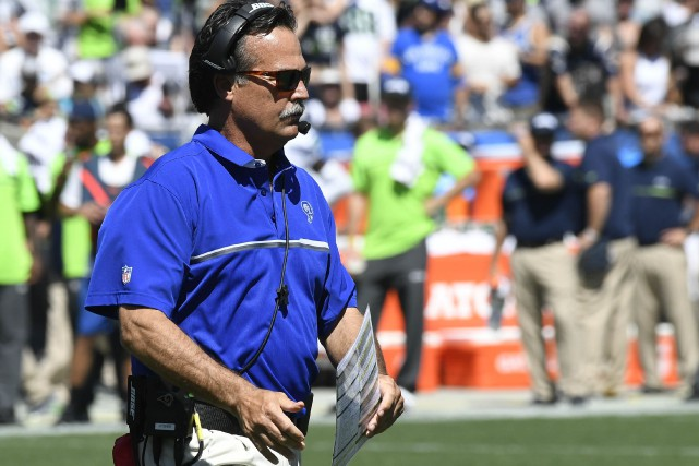 Jeff Fisher... (PHOTO Richard Mackson, USA TODAY Sports)