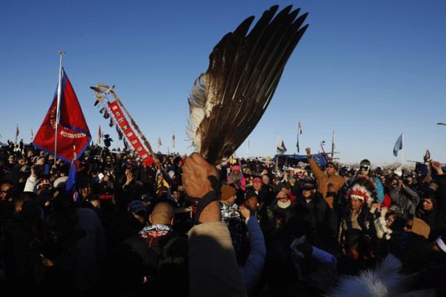 La tribu sioux de Standing Rock considère que... (PHOTO REUTERS)