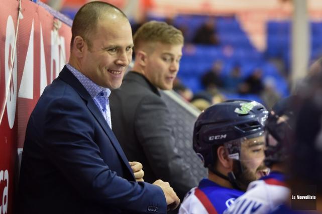 Le nouvel entraîneur-chef du Blizzard, Sébastien Vouligny, n'a... (François Gervais, Le Nouvelliste)