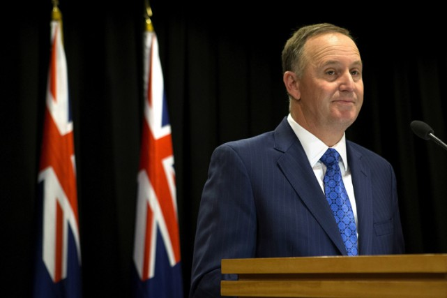 John Key... (PHOTO AP)