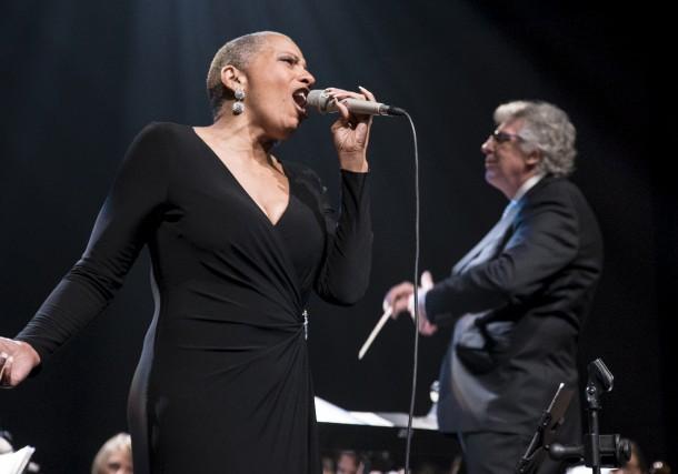 La chanteuse Kim Richardson a conquis quelque 1300... (Spectre Média, Marie-Lou Béland)