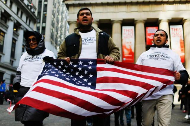 Des millions d'immigrés illégaux vivent dans la crainte... (PHOTO ARCHIVES AFP)