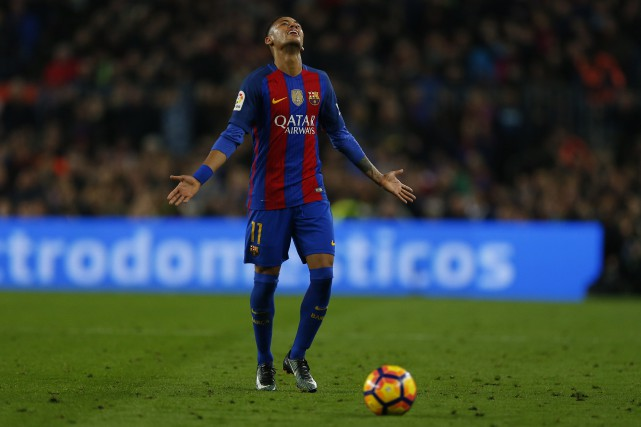Neymar... (Photo Francisco Seco, AP)