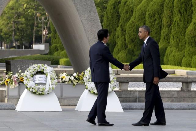 Barack Obama était devenu le premier président américain... (AP, Carolyn Kaster)