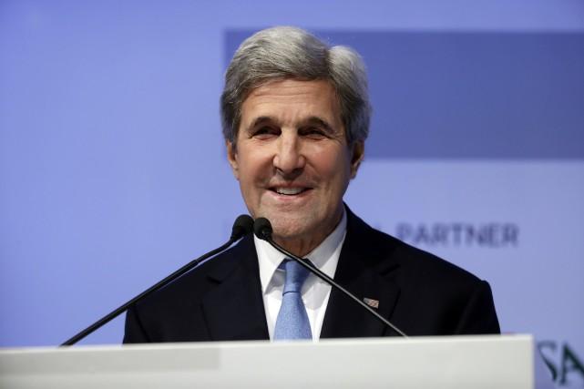 John Kerry... (Photo Gregorio Borgia, archives Associated Press)
