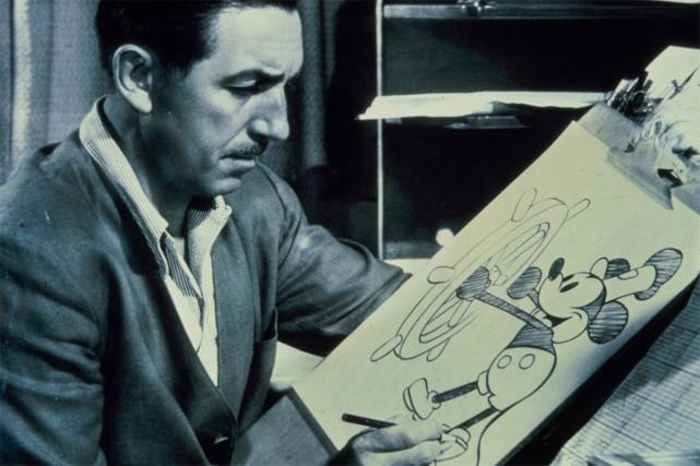 En 1928, Walt Disney atteint une première fois... (PHOTO ARCHIVES REUTERS)