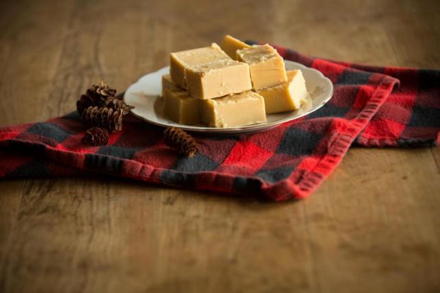 Le sucre à la crème de Thérèse André.... (PHOTO OLIVIER JEAN, LA PRESSE)