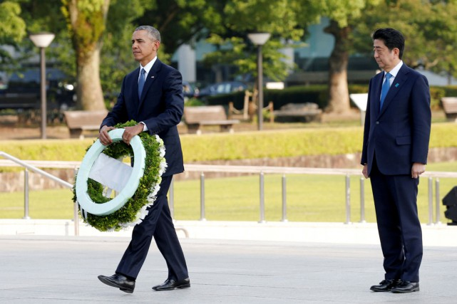 Fin mai, Barack Obama - en compagnie de... (Photo Toru Hanai, archives REUTERS)