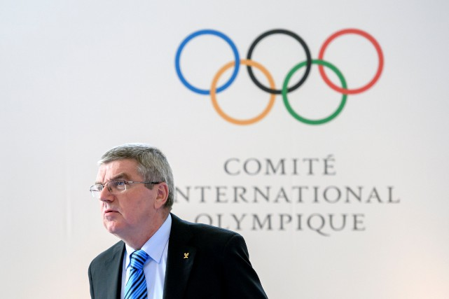 Le président du CIO, Thomas Bach.... (Photo Fabrice Coffrini, archives REUTERS)
