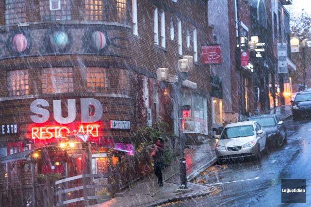 Environnement Canada confirme que le mois de novembre... (Photo archives Le Quotidien, Michel Tremblay)