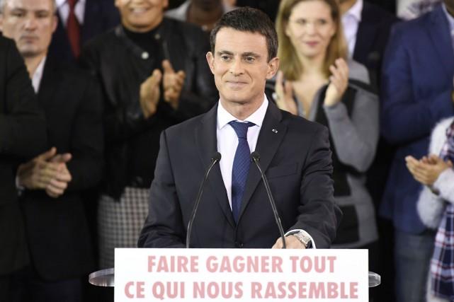 Le premier ministre Manuel Valls a annoncé qu'il... (photo Lionel BONAVENTURE, Agence France-Presse)