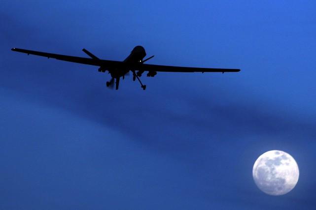 Si la couverture médiatique d'incidents impliquant des drones... (AP, Kirsty Wigglesworth)