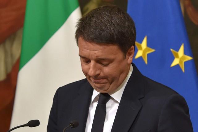 «Mon expérience de chef de gouvernement s'arrête là»,... (AFP, Andreas Solaro)
