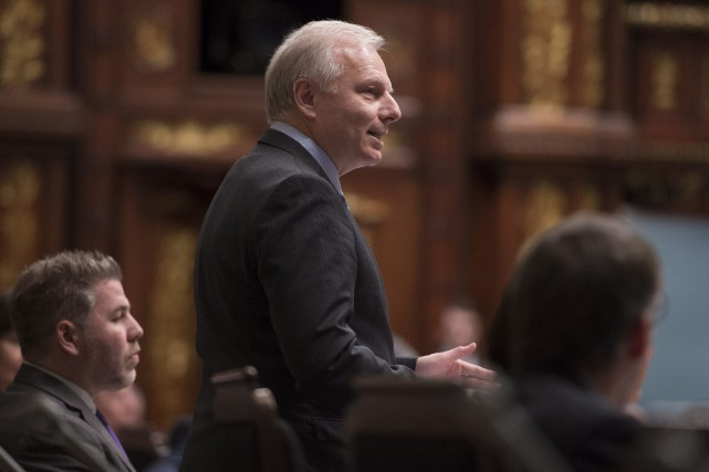 M. Lisée a suggéré trois mesures pour protéger... (Photo La Presse Canadienne)