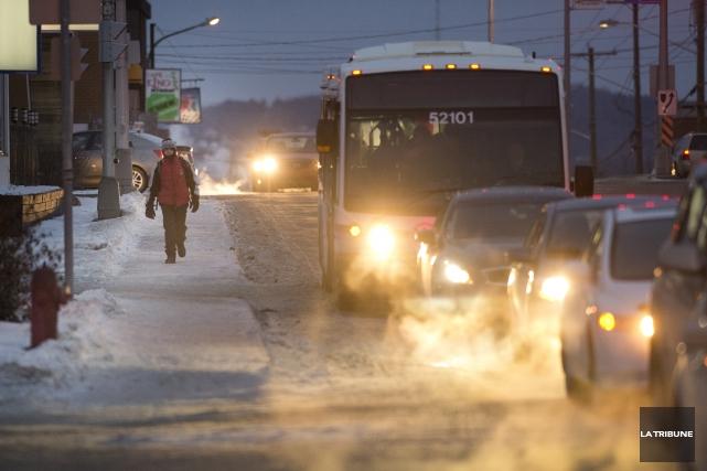 Après le répit offert en novembre et depuis le début de décembre, l'hiver se... (Archives La Tribune, René Marquis)