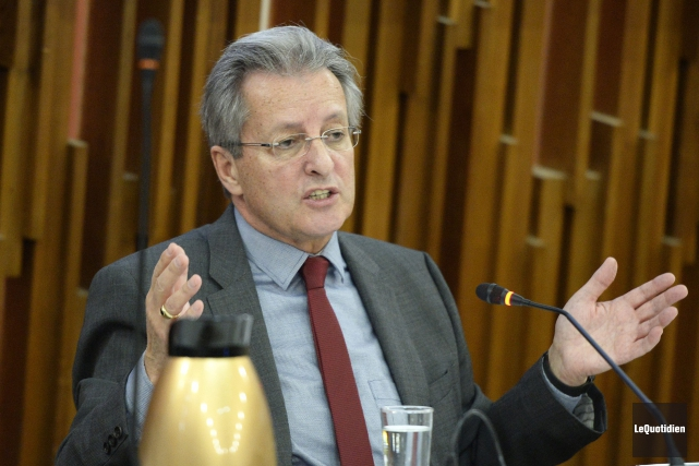Lors de la présentation de son dernier budget,... (Photo Le Quotidien, Jeannot Lévesque)