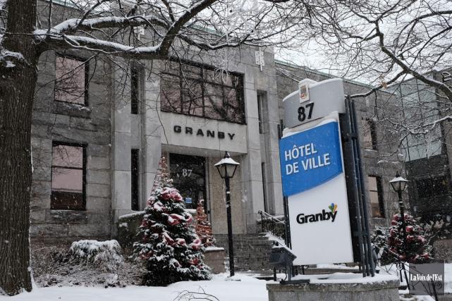 La Ville de Granby a adopté lundi un... (Alain Dion, La Voix de l'Est)