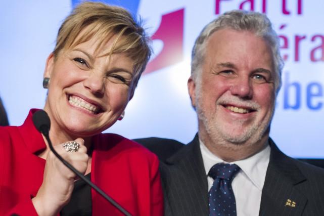 Contre toute attente, la candidate du PLQ, Isabelle... (La Presse canadienne, Graham Hughes)