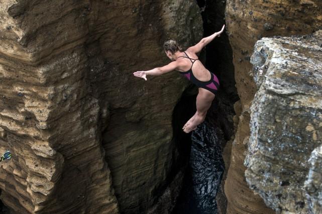 Lysanne Richard a été désignée l'athlète aquatique de... (Photo courtoisie)