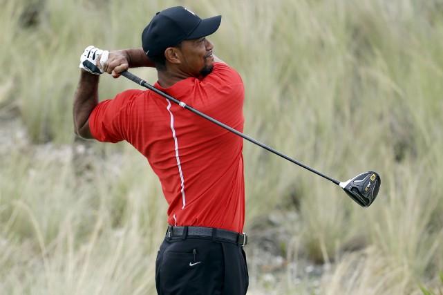 Pour 2017, Tiger Woods ne s'est pour l'instant... (AP, Lynne Sladky)