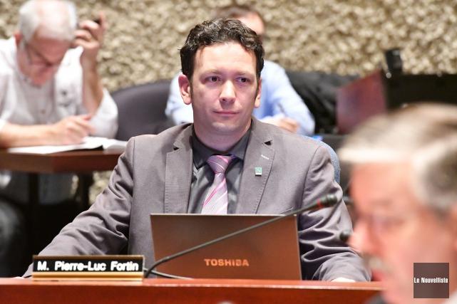 Pierre-Luc Fortin... (Stéphane Lessard, Le Nouvelliste)