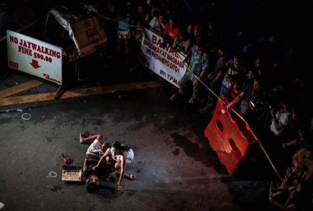 L'été dernier à Manille, aux Philippines, une femme... (PhotoNOEL CELIS, archives Agence France-Presse)