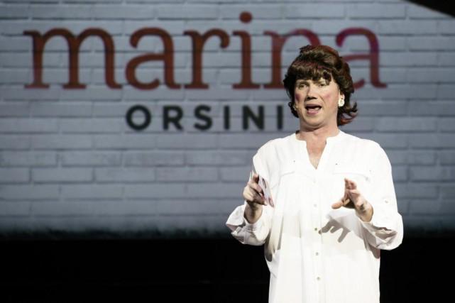 Marina Orsini (François Maranda)... (photoFrançois Laplante Delagrave, fournie par la production)