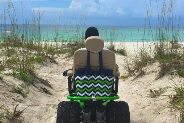 Atteint d'amyotrophie spinale, lAméricain Cory Lee n'en multiplie... (PHOTO TIRÉE DU COMPTE INSTAGRAM CURB FREE WITH COREY LEE)