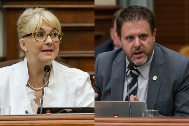 Diane Délisle et BrunoVachon...