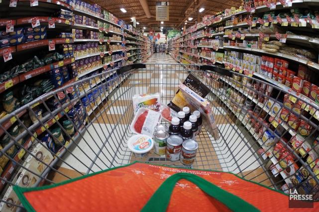 Le prix des aliments n'a pas fini de causer des maux de tête aux Canadiens,... (Archives La Presse)