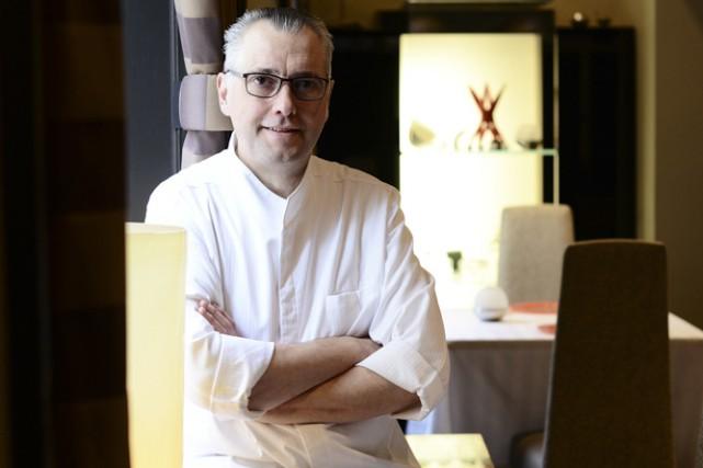 Yvan Lebrun, chef du restaurant Initiale.... (Photo fournie par CNW)