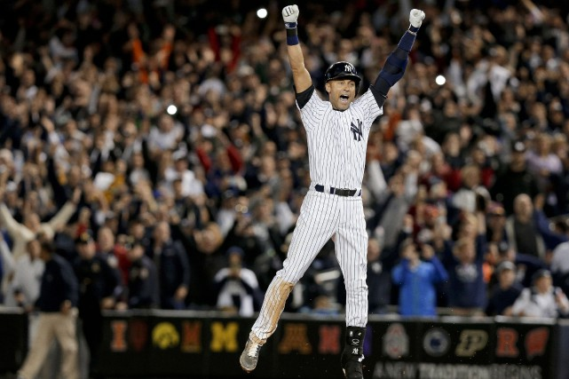 Derek Jeter... (Photo Julie Jacobson, archives AP)