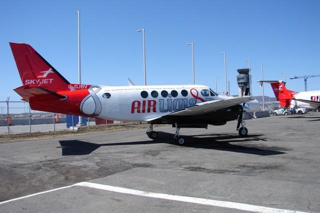 Un appareil pouvant acceuillir neuf passagers sera utilisé... (Courtoisie, Air Liaison)