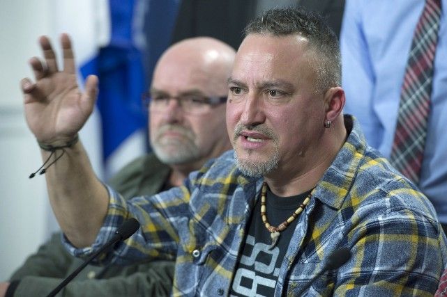 Bernard «Rambo» Gauthier a promis un virage politique... (La Presse Canadienne, Jacques Boissinot)