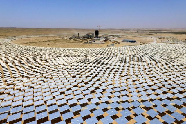 Désormais, à chaque doublement de capacités solaires installées,... (photo JACK GUEZ, archives Agence France-Presse)