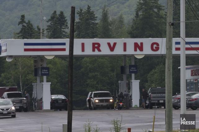 Le procès de plusieurs semaines de la pétrolière Irving en marge du cartel de... (Archives La Presse)