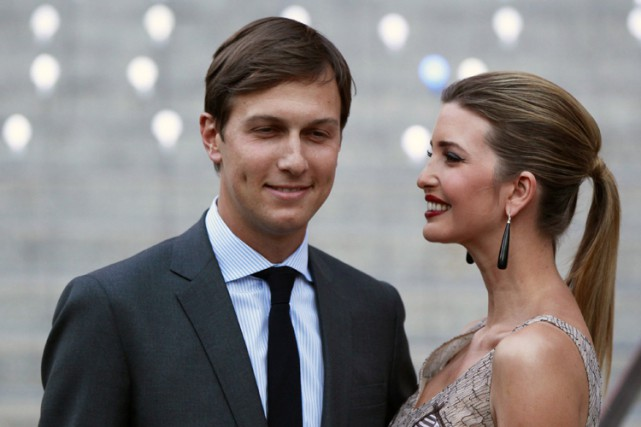 Jared Kushner est le mari d'Ivanka Trump.... (ARCHIVES REUTERS)