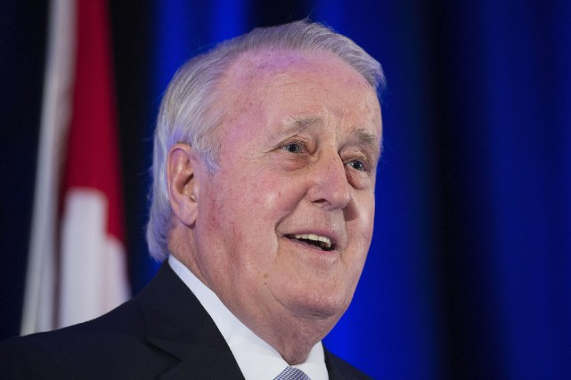 L'ancien premier ministre du Canada, Brian Mulroney... (Photo Graham Hughes, archives La Presse canadienne)