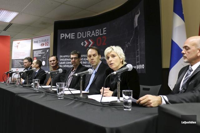 Le Centre québécois de développement durable a fait... (Photo Le Quotidien, Yohann Gasse)